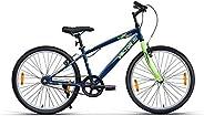 VECTOR 91 TopGun 24T Single Speed Hybrid Bike (Ideal For: 9 to 11 Years , Brake: V Brake )