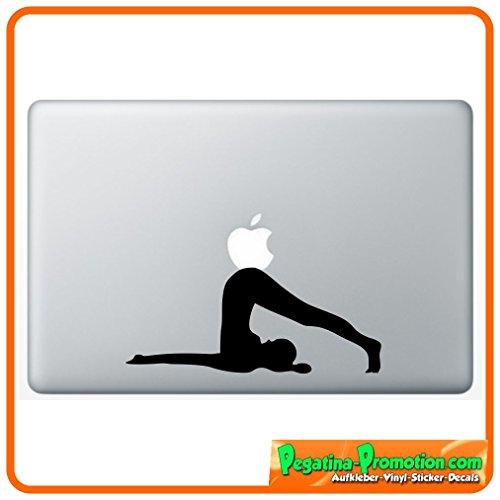 """Preisvergleich Produktbild """"YOGA 2 """" Aufkleber Sticker für Macbook Air 11 13, Macbook skin 13, 15, 17 Zoll inch Apple Notebook Aufkleber ohne Hintergrund Tattoo Vinyl PEGATINA Apple Mac Hintergrund"""