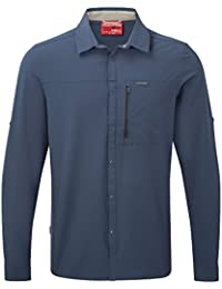 Craghoppers Mens NosiLife Pro Wicking Long Sleeve Button Shirt