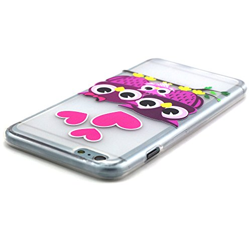 """QSY® iPhone 6 (4.7"""") TPU Coque silicone Housse Etui Strass etui Case Cas Cuir Swag Pour iPhone 6 (4.7"""") (iPhone 6 (4.7""""), 3) 1"""