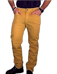 HOLIDAY JEANS Pantalone MOD. Panama (Pesante Mezza Stagione) Made in Italy  Uomo 1eaa81b5dd22