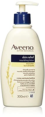 Aveeno Body Lotion Shea Butter, 300ml by Johnson & Johnson