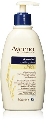 Aveeno Skin Relief Nourishing Lotion mit Shea Butter für extra trockene Haut 300ml (Relief Lotion Aveeno Skin)