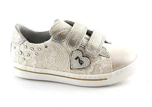 BLACK JARDINS JUNIOR 28411 ivoire chaussures de dentelle bébé larmes