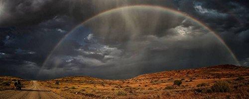 """Stampa artistica / Poster: Pavol Stranak """"path to the rainbow"""" - stampa di alta qualità, immagini, poster artistici, 100x40 cm"""