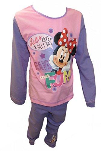 Disney Minnie Mouse Mädchens Pyjamas 7-8 Jahre