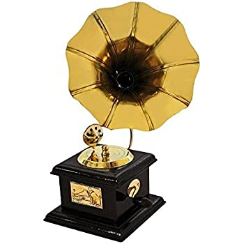 Buy Itos365 Handmade Vintage Dummy Gramophone Showpiece Only For