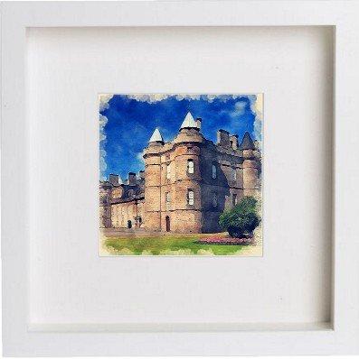 Edimburgo | Palace di Holyroodhouse incorniciato opera//cornice