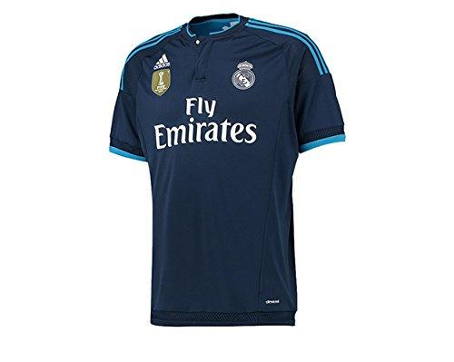 adidas Real 3 JSY WC - Camiseta para hombre, color azul marino / azul / blanco, talla XL