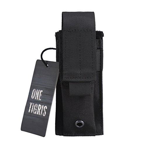 OneTigris Le Porte-Chargeur Molle en Nylon 1000D Pochette de Rangement pour Outiles (Noir)