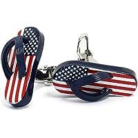 American Flip Flop Gemelli Bandiera USA Patriot