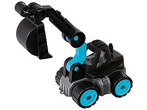BIG Power-Worker Mini Digger Sansibar vehículo de Juguete De plástico - Vehículos de Juguete (Negro, Azul, De plástico, Interior, 2 año(s), 5 año(s), Niño)