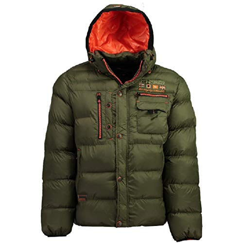 41X PStVP6L. SS500  - Geographical Norway Men's Quilted Winter Jacket Citernier Hood