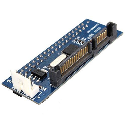 Ide Eide Kompatibel (SODIAL (R) Konverter 40-Pin IDE Female SATA zu 22-Pin maennlichen Adapter PATA SATA Karte)