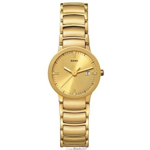 Rado R30528253–Wristwatch women's, stainless steel strap–Gold
