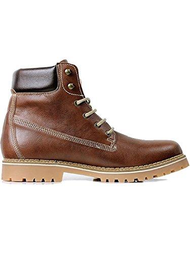 Will's Vegan Shoes Women's dock boots chestnut-5 UK/38 EU/7 US