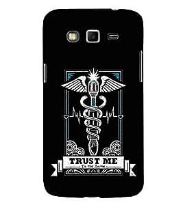Doctor Sign 3D Hard Polycarbonate Designer Back Case Cover for Samsung Galaxy Grand I9082 :: Samsung Galaxy Grand Z I9082Z