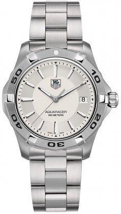 TAG Heuer WAP1111.BA0831 - Orologio da polso, acciaio inox, colore: grigio