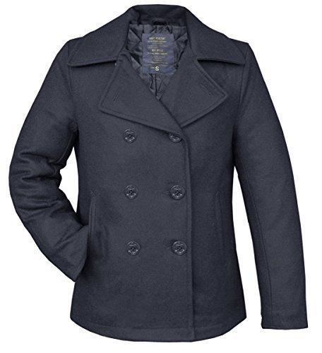 Cappotto invernale Navy Pea Coat Marine Blau M