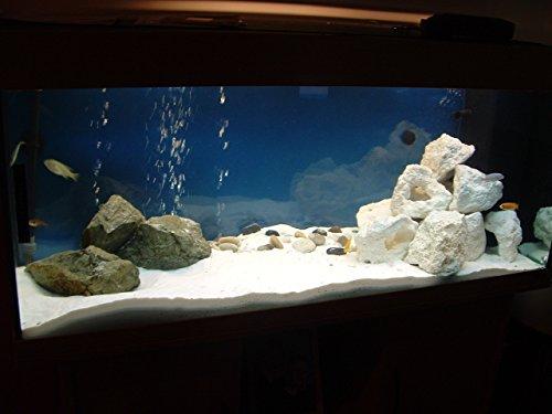 Cristobalite Pure White PH Neutral Aquarium Sand. 5kg 1