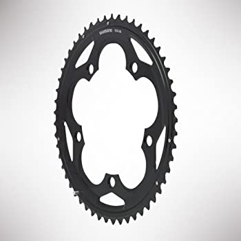 Shimano 105 5700 110bcd Black Compact 10 Speed Chainring - 34t 0