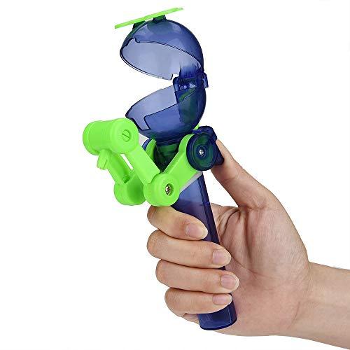 BZLine Kinder Kreative Essen Roboter Lollipops Halter Nette Lutscher Stand Kreatives Lutscher-Artefakt-lustiger Essenlutscher-Roboter Geschenke Baby Spielzeug (Grün) (Lutscher Einhorn)