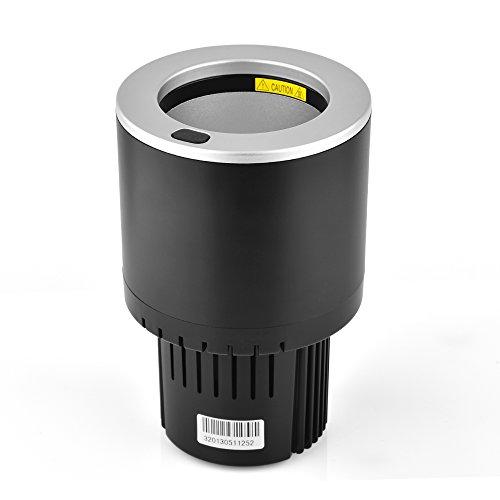 aushen Auto Electric Car Cup Kühler/Wärmer 2018New Halbleiter Mini Kühlschrank Getränkehalter kühlen oder Heizen Getränkedosen Kaffee in Minuten
