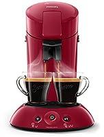 Senseo Original HD6554/90 Padmaschine with Kaffee-Boost red