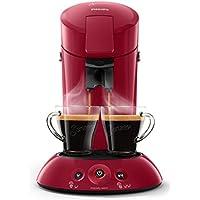 Philips HD6554/90 Senseo Kaffeepadmaschine (Crema Plus, Kaffeestärkewahl) dunkelrot