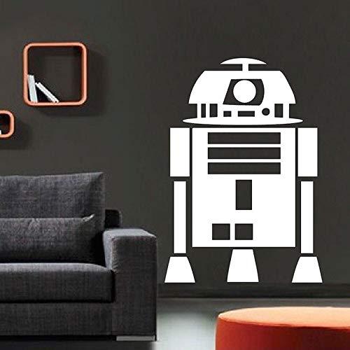 too R2D2 Roboter l Kunst Wohnkultur Für Jungen Zimmer Removable Wallpaper Benutzerdefinierte Wand Sticker57 * 81 cm ()