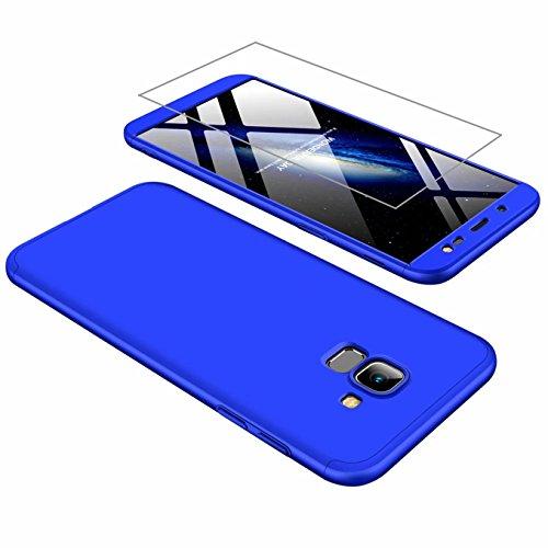 Funda Samsung J6 2018 Cubierta 360°Caja AILZH Protección