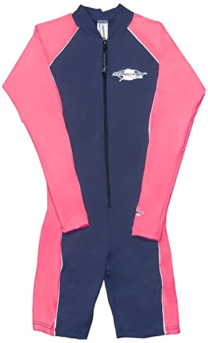Sting Ray Protection anti-UV 1pièce pour femme Bleu marine/rose