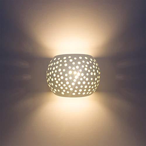Applique da parete moderna applique accendino con 7w led tipo di protezione g9 protezione ambientale naturale materiale del gesso lampade a parete per soggiorno camera da letto