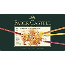Faber-Castell 110036 Matite Colorate, 36 Pezzi - Tin Base