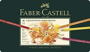 Faber-Castell Polychromos Colour Pencils Tin Of 36