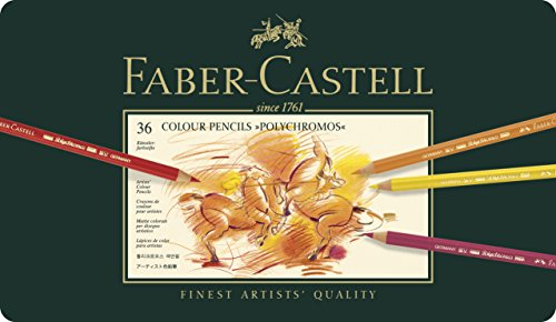Faber Castell Polychromos Color Pencil Set - Pack of 36