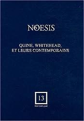 Quine, Whitehead et leurs contemporains