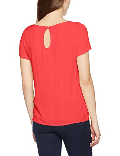 Only Onlfirst SS Top Noos Wvn, T-Shirt Femme Rose (Teaberry Teaberry)