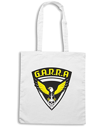 T-Shirtshock - Borsa Shopping TM0015 garra choque brasile CAP Bianco