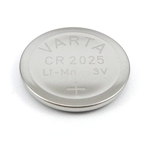 Varta VCR2025 10x Batterie au Lithium/Pile Bouton/Pile Bouton (u Compatible. A. avec BR2025 / DL2025)