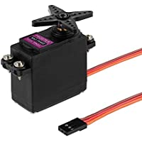 Best price for 2Pcs High Torque MG996R Metal Gear Digital Torque Servo For Futaba JR 2C RC Truck Car Boat UK from radiocontrollers.eu