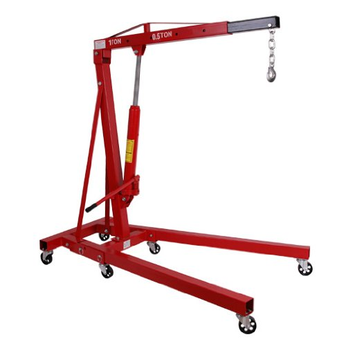 EBERTH Hydraulic Workshop Crane 1000kg Test