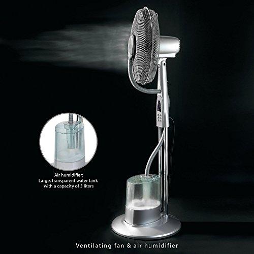 AEG VL 5569 LB Ventilador de pie oscilante con nebulizador