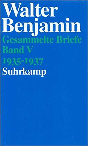 Gesammelte Briefe. 6 Bände: Band V: Briefe 1935-1937