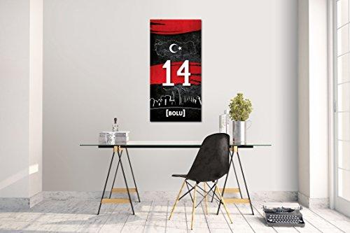 er Aufkleber Bolu 14 Plaka Türkiye Grösse: 120 x 60 cm ()