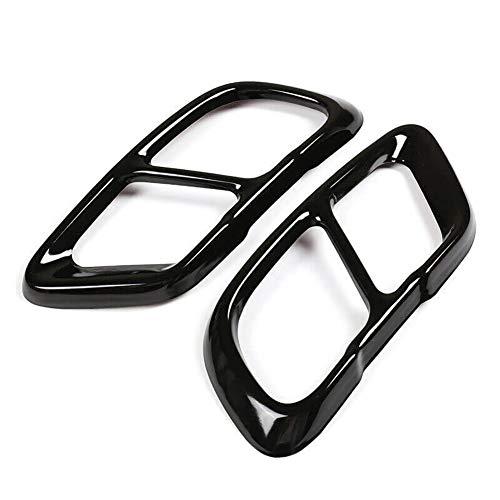 Romdink Auspuff Endrohr-Abdeckung, Schalldämpfer-Abdeckung, Zierleiste Auspuffendrohr-Abdeckung für BMW X5 G05 X7 G07 2019 2020