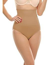 Clovia Fabric Women's Tummy Tucker with Silicone Grips