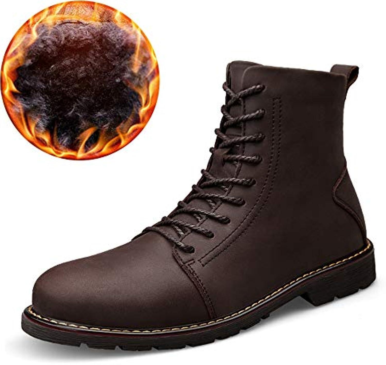 BND-scarpe , Stivaletti alla alla alla Moda Uomo Casual Comodi Stivali Alti in Vacchetta Confortevole (Warm Velvet Opzionale... | Vendita  | Uomo/Donne Scarpa  074dde