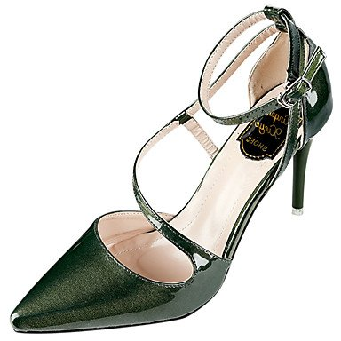 Zormey Frauen Heels Komfort Im Sommer Pu-Dress Casual Stiletto Heel Schnalle US5 / EU35 / UK3 / CN34