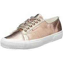 Superga 2790 Netw, Unisex Erwachsene Platform Sneakers, Gold, 40 EU